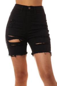 Haven Distressed Shorts