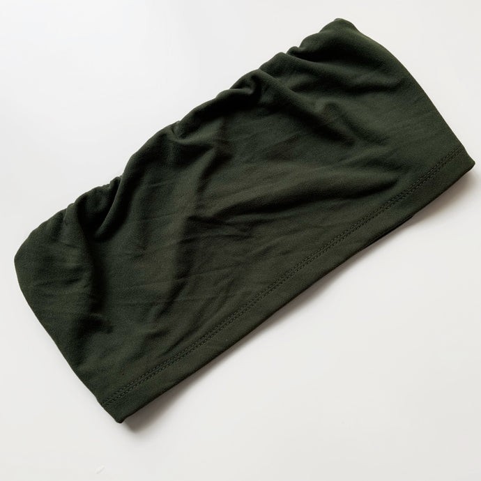 Come Get it Tube Top (OLIVE)