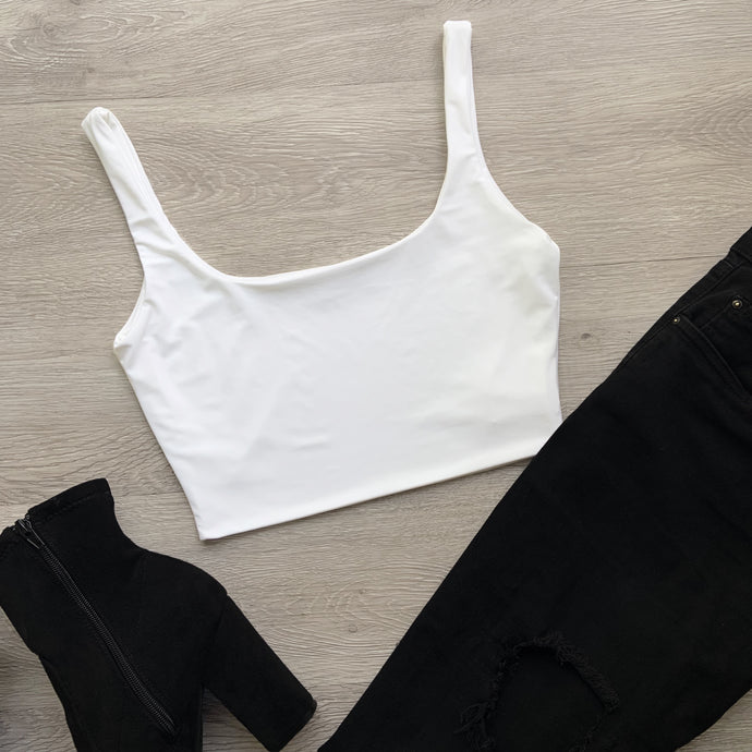 Avery Top (white)