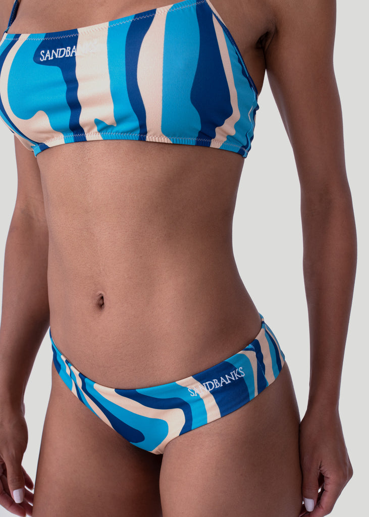 Sandbanks Bikini Bottom - Camo Wave - sandbanksco.com