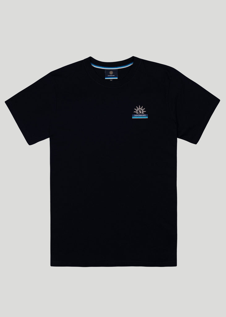 Sandbanks Horizon T-Shirt - Black - sandbanksco.com