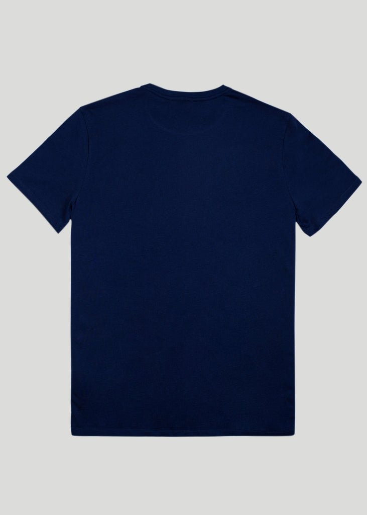 Sandbanks Badge Logo T-Shirt - Navy - sandbanksco.com