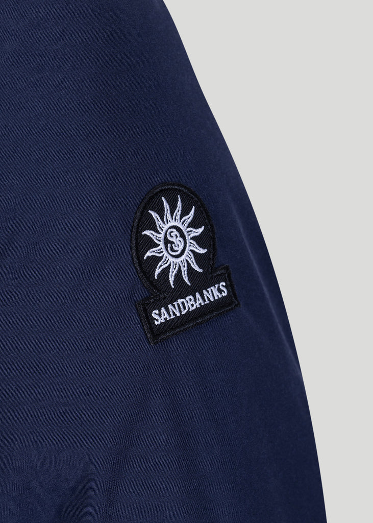 Sandbanks Canford Terrace Jacket - Navy - sandbanksco.com