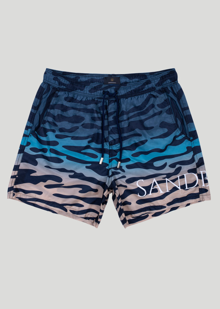 Sandbanks ECONYL® Tiger Shark Swim Shorts - Multi Coloured - sandbanksco.com