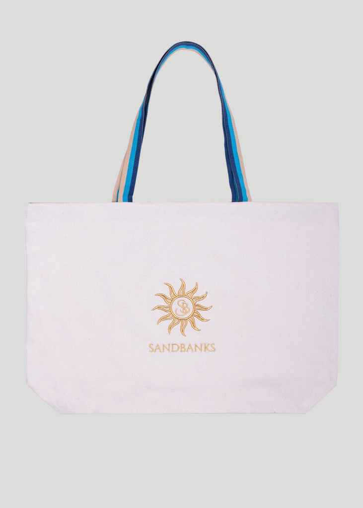 Sandbanks Organic Cotton Tote Bag - sandbanksco.com