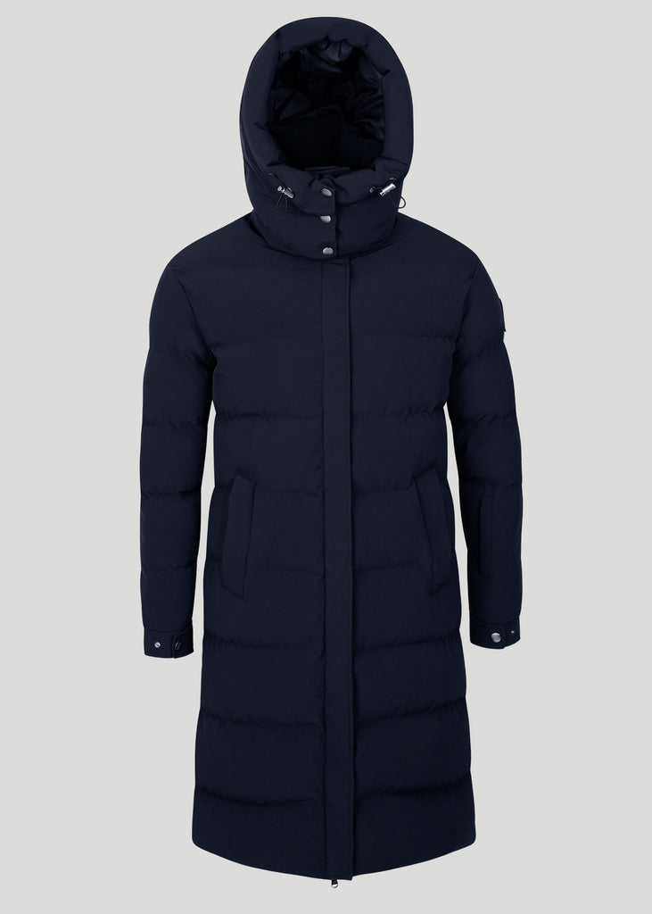 Sandbanks Haven Oversized Long Puffer - Black - sandbanksco.com