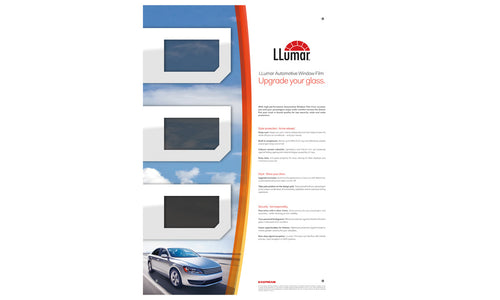 LLumar Automotive Wallboard German