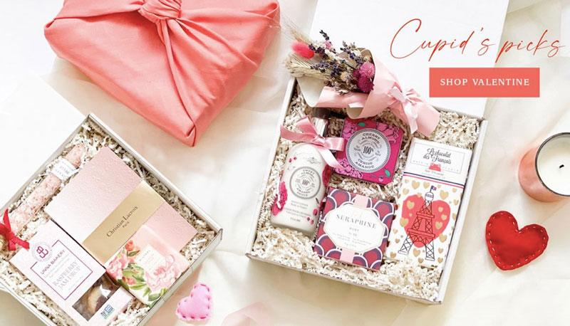 Love is hard to put into words, but these gifts may help! New gift box releases for Valentine's Day