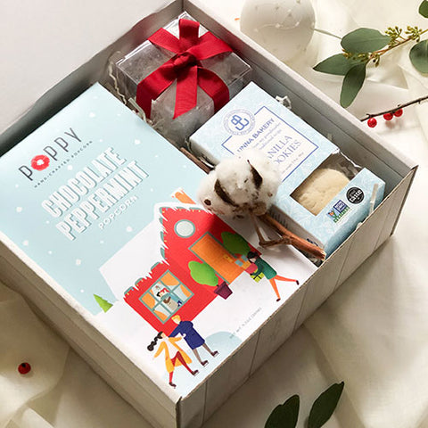 KADOO Popcorn Holiday Gift Box