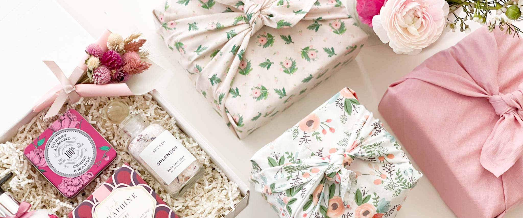 Wedding party and bridal gifts for bride to be, bridesmaid and newly engaged