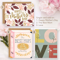 Happy Mother's Day Notecards. The Best Mom Notecards. Love Notecards. Add-on option. Made in the U.S.A.