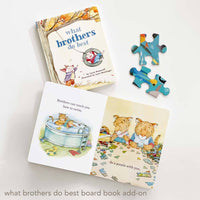 what brothers do best board book by Laura Numeroff. Perfect for sibling gifts.