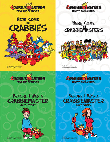 CrabbieMasters - 4 Book Introductory Overview Set (SAVE $10)