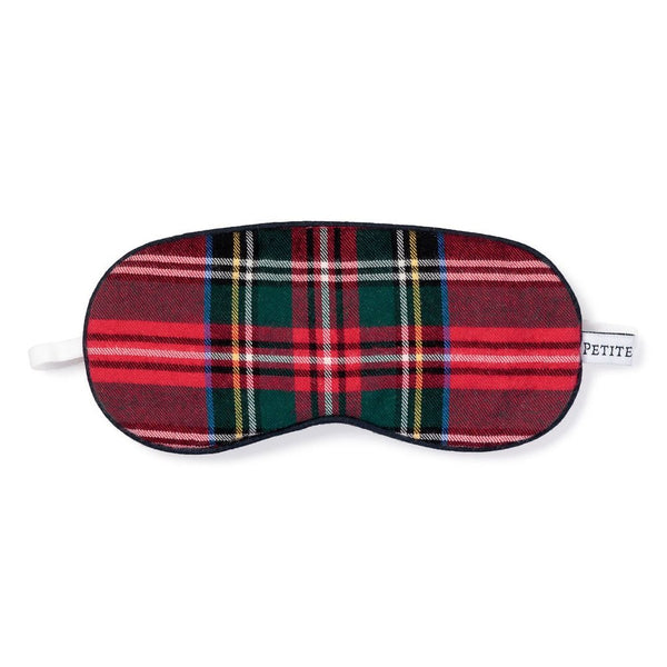 Petite Plume Traditional Eye Mask, Imperial Tartan