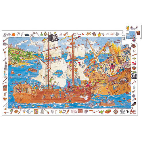 Observation Puzzles Pirates