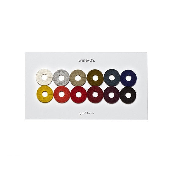 Graf Lantz Felt Round Wine-O's, Autumn Mix