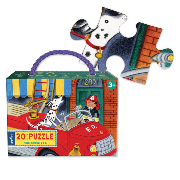 Fire Truck Dog Puzzle