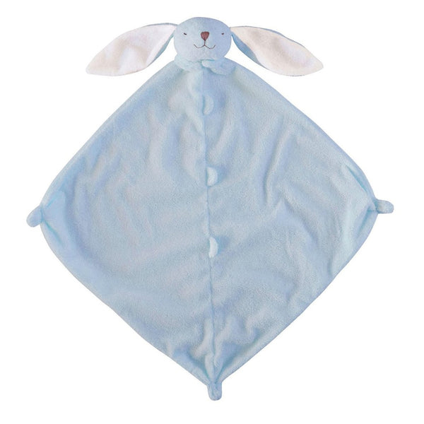 Angel Dear Blue Bunny Blankie with Monogram