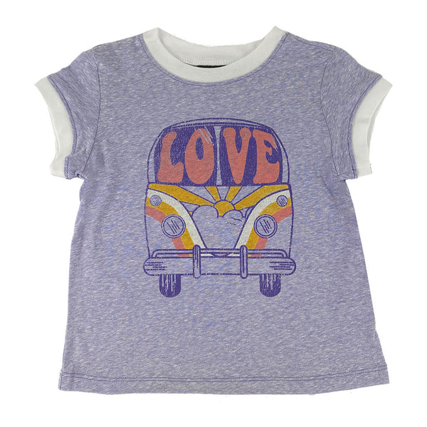Love Bus Ringer Tee