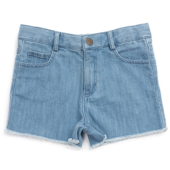 Bonton Girls Denim Shorts