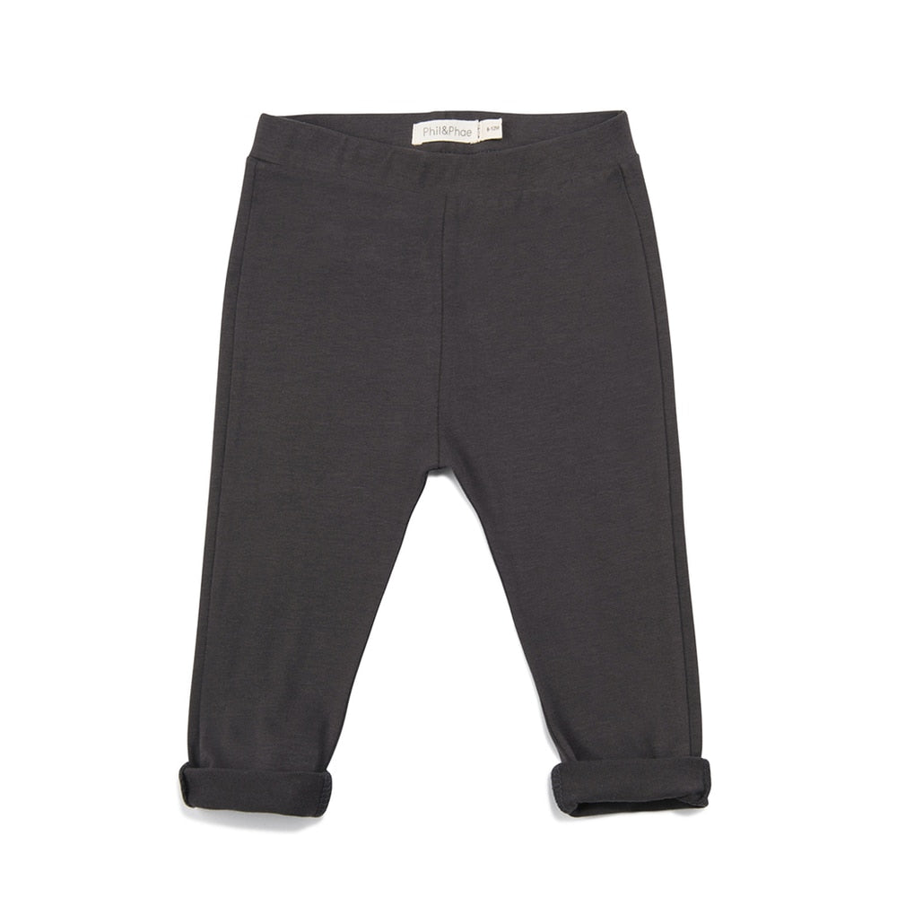 Phil & Phae Basic Graphite Pants