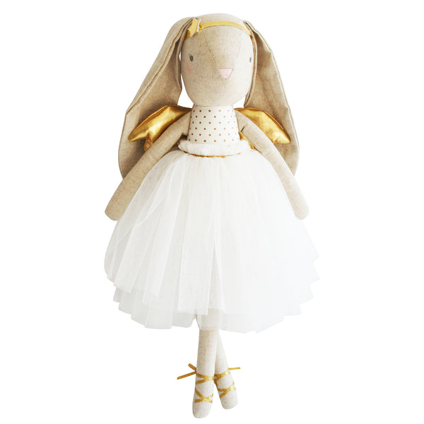 Estelle Linen Angel Bunny - Gold