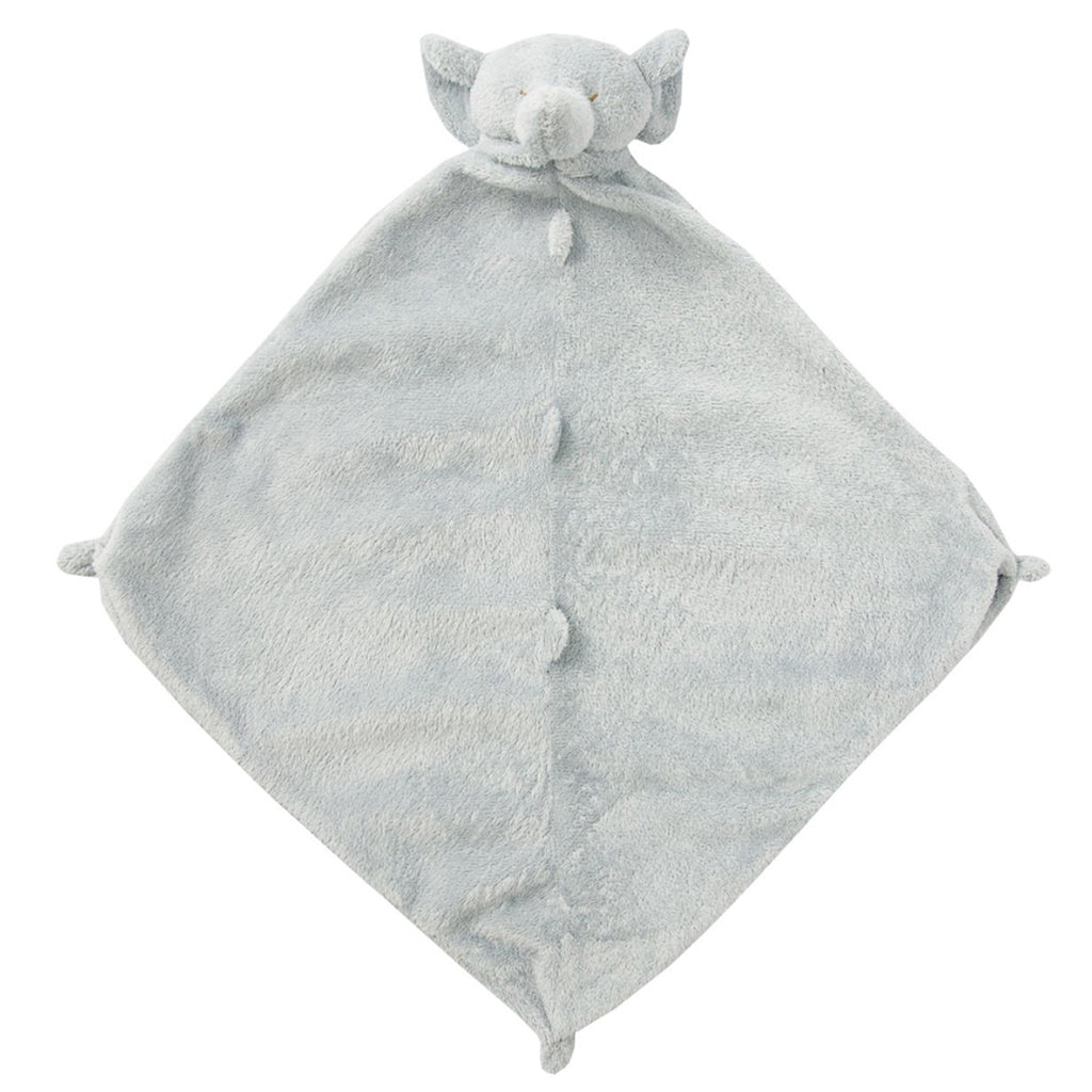 Grey Elephant Blankie with Monogram