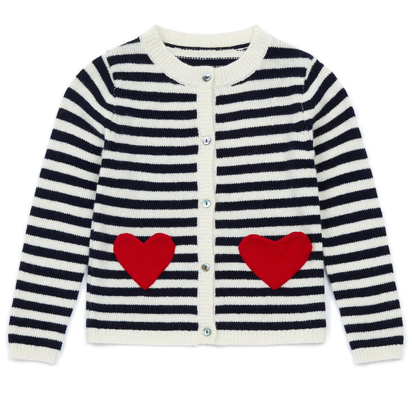 Bonton Two Hearts Cardigan