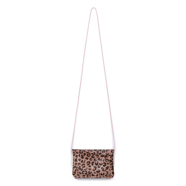 Bonton Rose Leopard Mini Purse