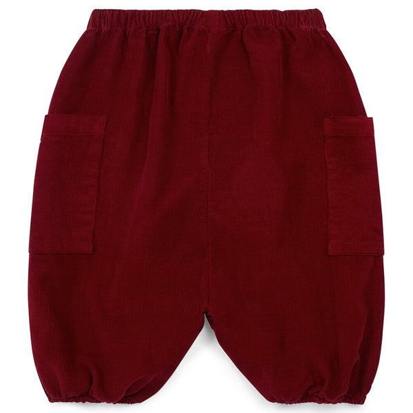 Bonton Red Baby Pants