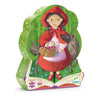 Red Riding Hood Silhouette Puzzle