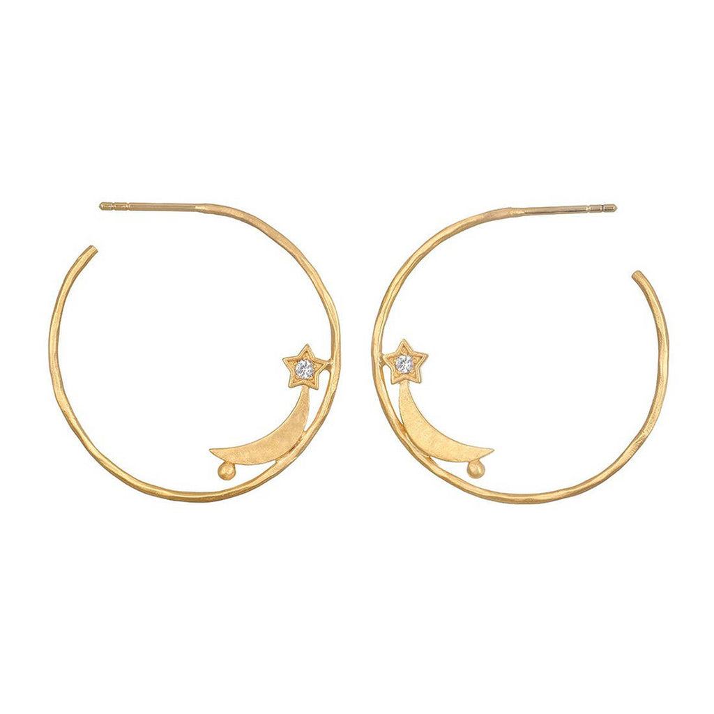 Infinite Aspiration Hoop Earrings