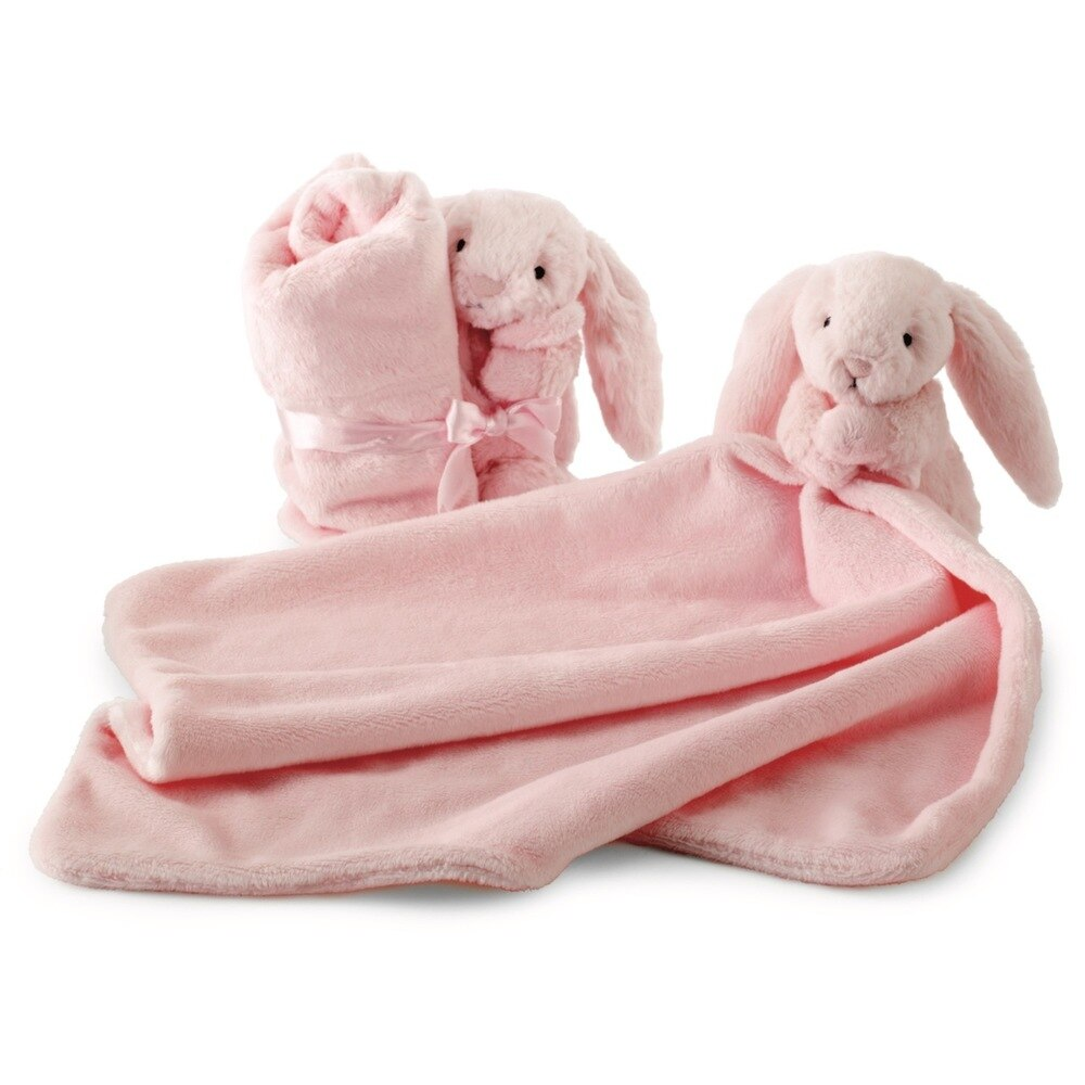 Jellycat Bunny Soother in Light Pink