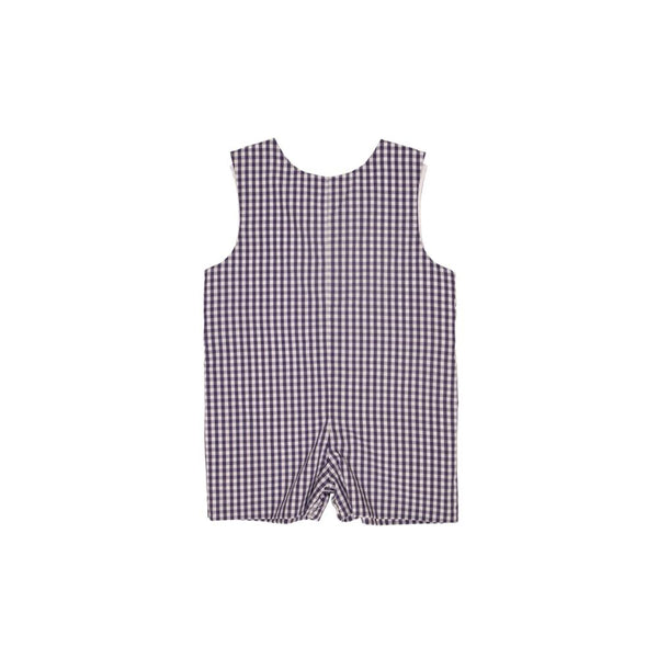 Jack Keene Jon Jon Nantucket Navy Gingham with Worth Avenue White