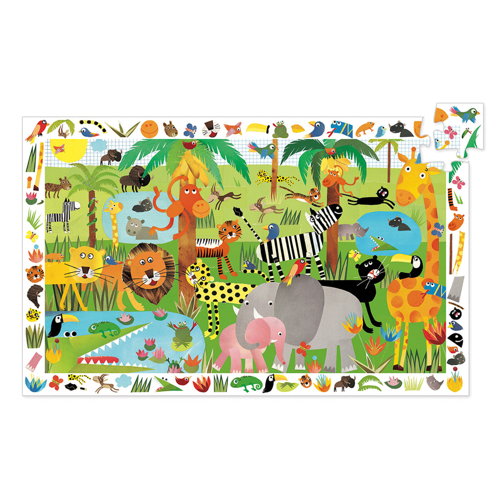 Observation Puzzle Jungle