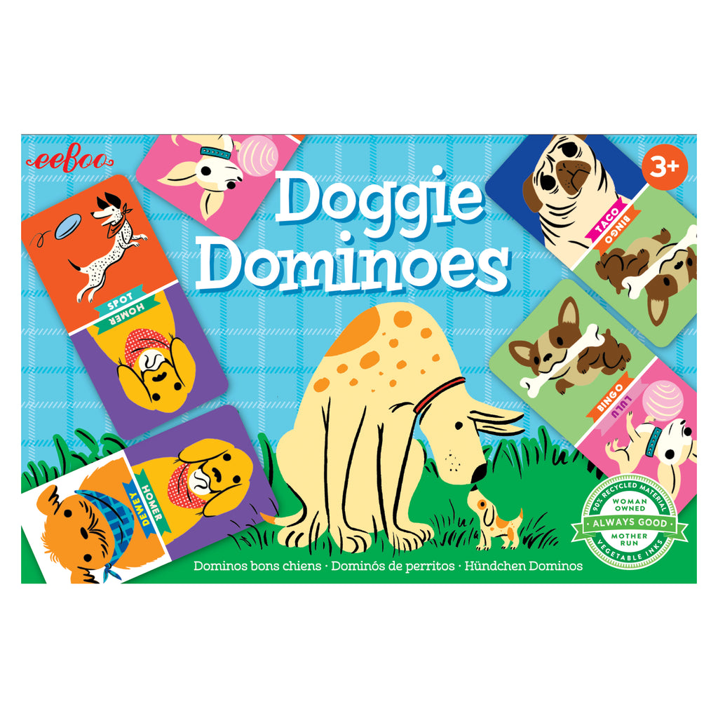 Doggie Dominoes Game