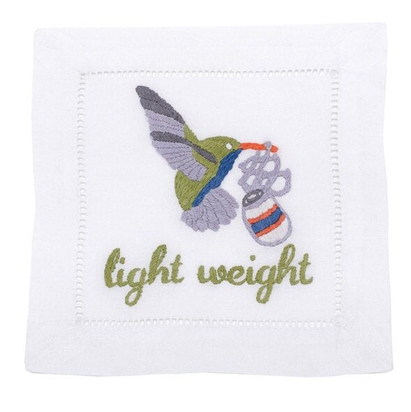 August Morgan Light Weight Cocktail Napkins