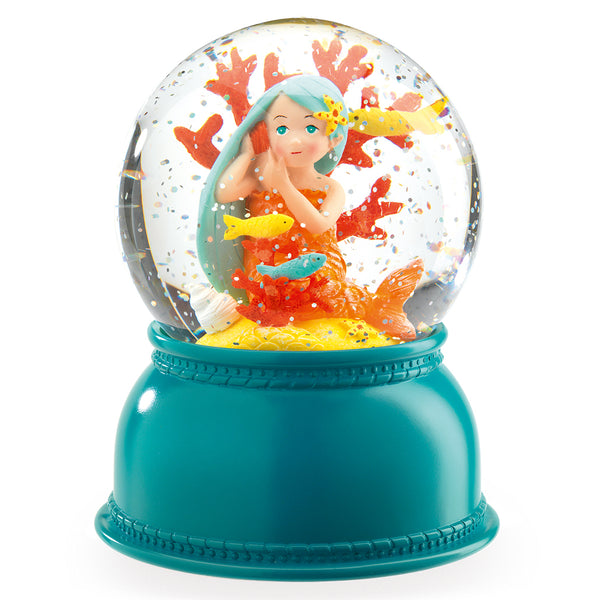 Snow Globe Nightlight, Mermaid