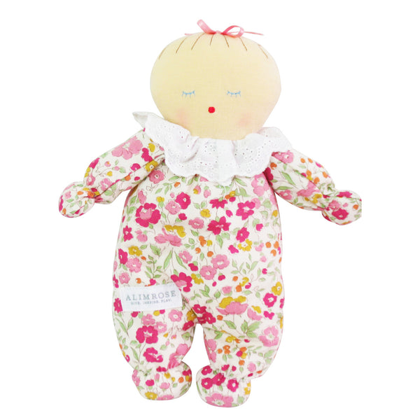 Asleep Awake Baby Doll - Rose Garden