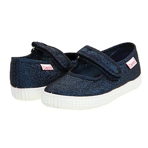 Cienta Mary Jane Shoe, Navy Sparkle