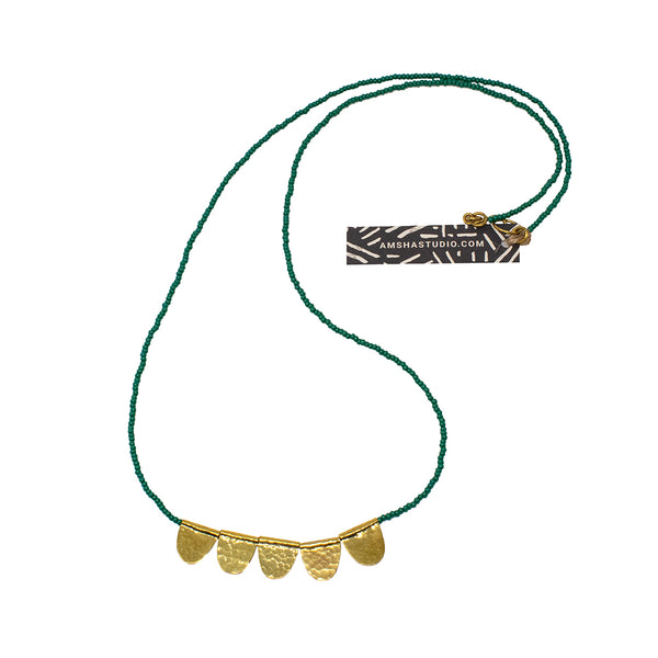 Jua Necklace Green