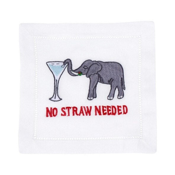 August Morgan No Straw Needed Cocktail Napkins