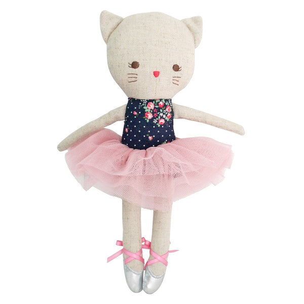 Odette Kitty Ballerina - Midnight Floral