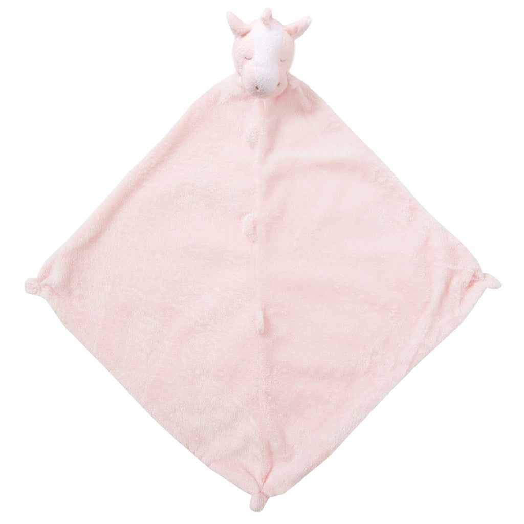 Pink Pony Blankie with Monogram
