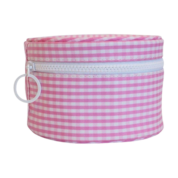 Gingham Round Up with Monogram (multiple colors)