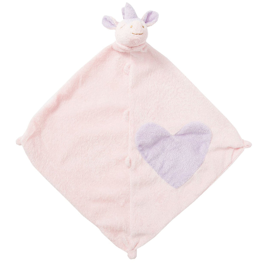 Pink Unicorn Blankie with Monogram