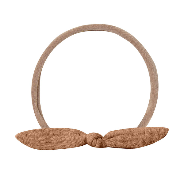 Little Knot Headband Rust