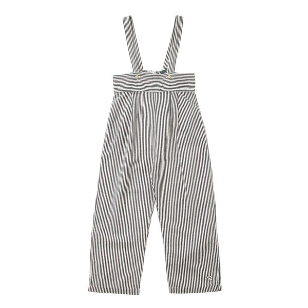 Tocoto Vintage Striped Overall, Navy