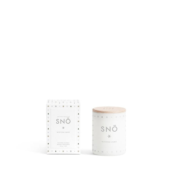 SNO Mini Snow Scented Candle