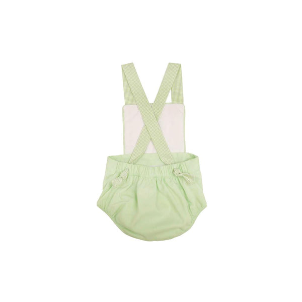 Sayre Sunsuit Worth Avenue White with Marietta Mint Check